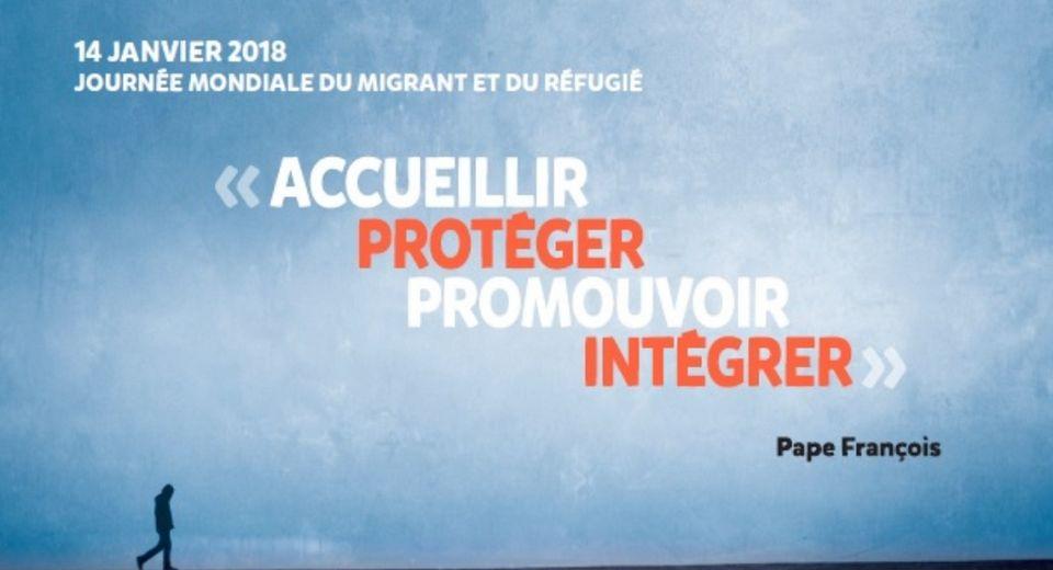 Journée mondiale migrant et réfugié 2018