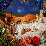 La crèche 2018 de l'église Notre-Dame de Talence
